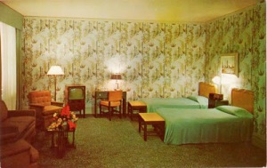 POSTCARD - TORONTO - KING EDWARD HOTEL - ROOM INTERIOR - NICE - c1960