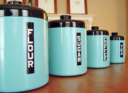Typical canisters.  These canisters are not haunted but are merely known for illustrative purposes.