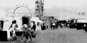 Eastern Lankvillians enjoy the fair.