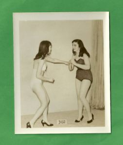 Xenith and Flora, the two virgin small motel girl wrestling wrestlers.