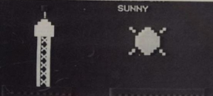 Detail of the Madison Weather Simulator.