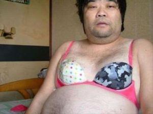My friend Eddie, the originator of the bra buffet.