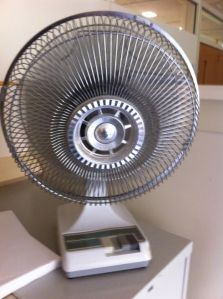 Fifty years ago called. They want their oscillating fan back.
