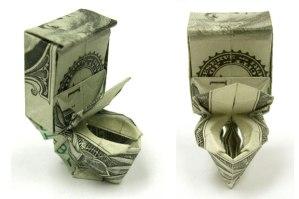 Suzy's making that good toilet money.