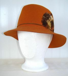 The Pumpkin Fedora from Cabbages Boy.