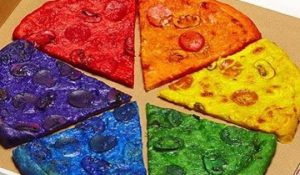 The Rainbow Pizza that made everyone sick.