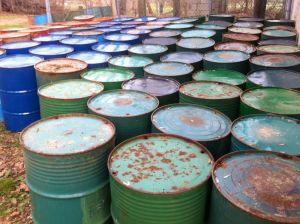 The barrels were not deemed newsworthy.
