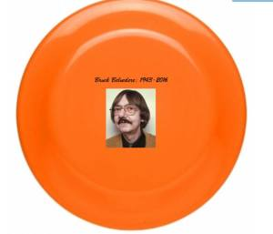 Brock Belvedere Bereavement Frisbees